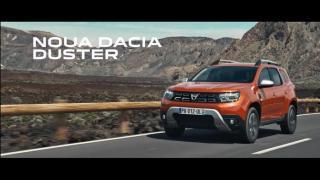 Dacia Duster Screenshot Werbung