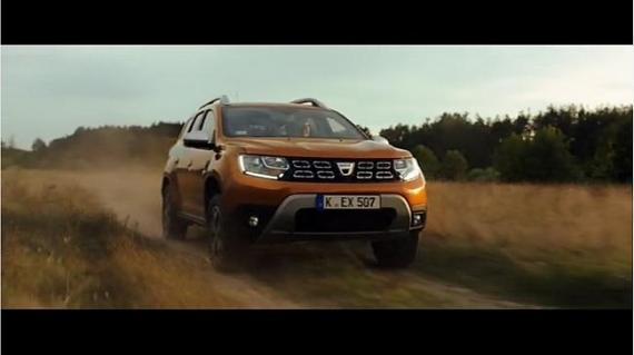 Screenshot aus Dacia Duster Werbung