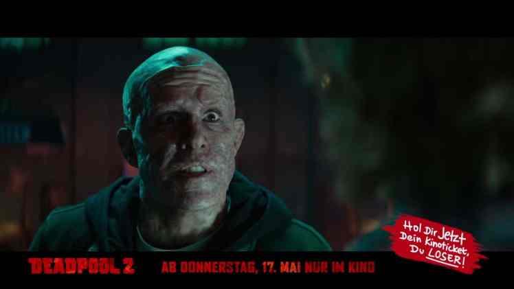 Screenshot aus Deadpool 2 TV-Spot