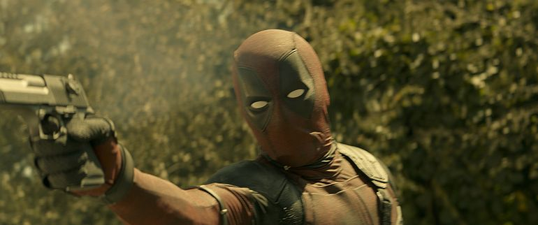 Screenshot aus Deadpool 2 Film