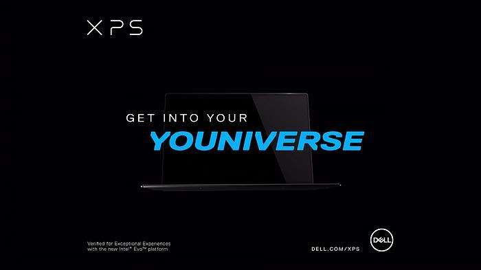 Screenshot aus der Dell XPS Werbung