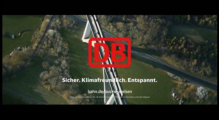 Deutsche Bahn Werbung