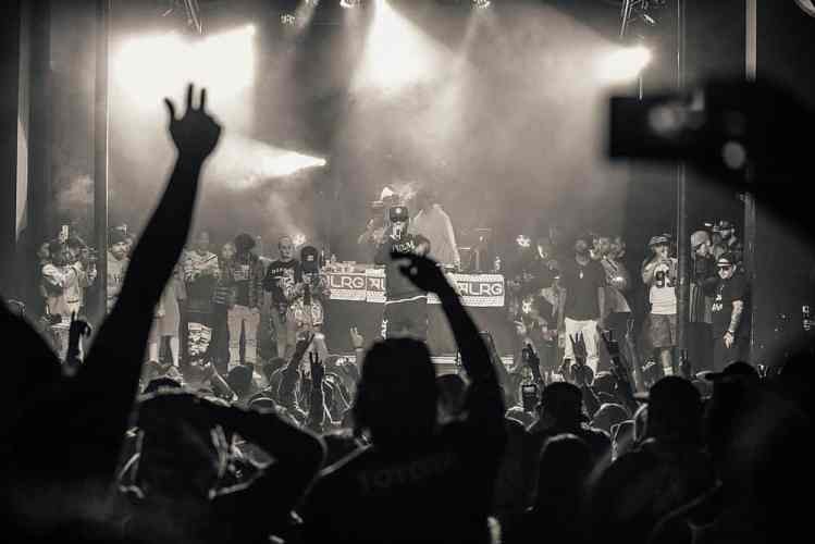 deutsche Hip-Hop Gruppe