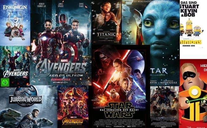 Erfolgreichsten Filme Aller Zeiten