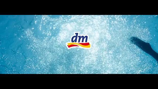 Screenshot aus DM Werbung