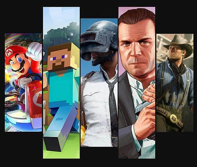 Die erfolgreichsten Videospiele aller Zeiten