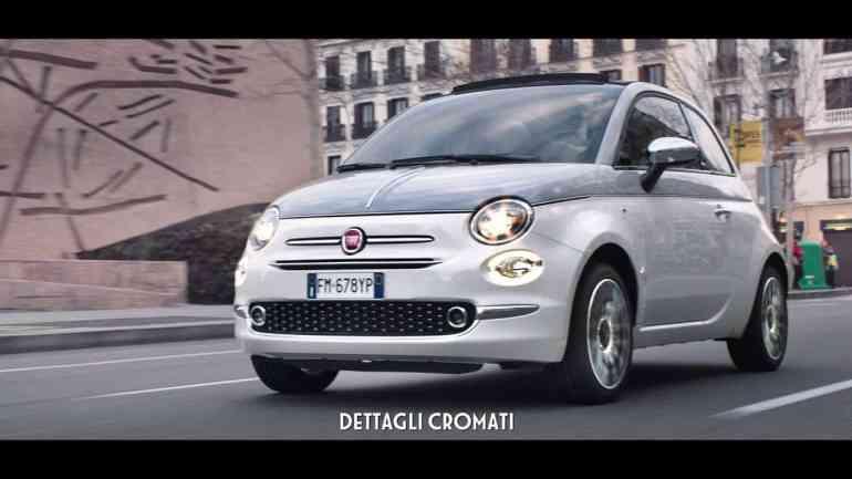 Screenshot aus Fiat 500 Collezione Werbung