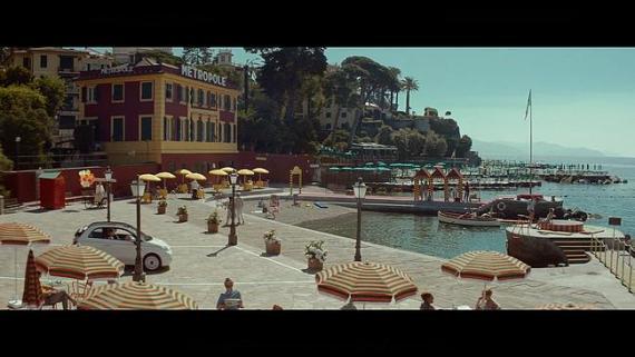 Screenshot aus Fiat 500 Dolcevita Werbung