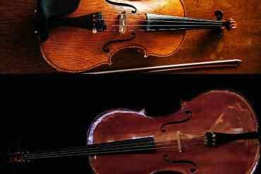 Geige oder Cello