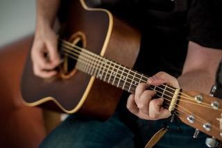 Gitarre close-up