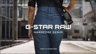 Screenshot aus der G-Star Raw Jeans Werbung
