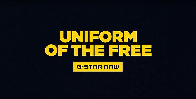 Screenshot aus G-Star Raw Werbung