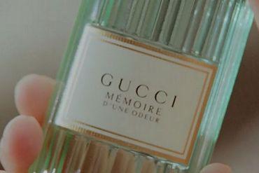 Screenshot aus der Gucci Mémoire d'une Odeur Werbung