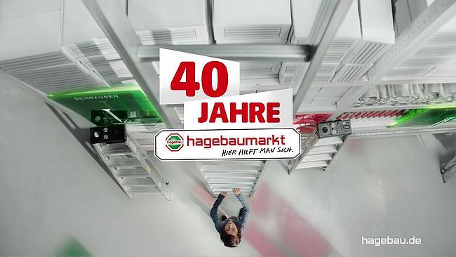 Screenshot aus Hagebaumarkt Werbung