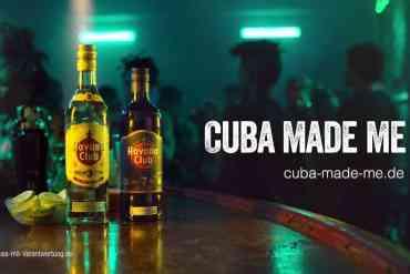 Screenshot aus Havana Club Werbung