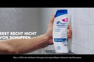 Screenshot aus Head & Shoulders Werbung