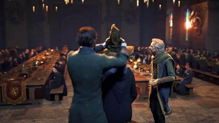 Hogwarts Legacy Haus auswählen