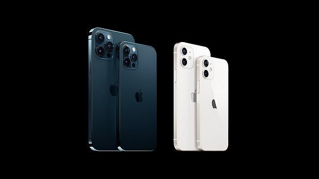 Screenshot aus der iPhone 12 Werbung