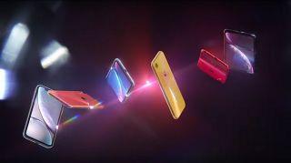 Screenshot aus iPhone XR Werbung