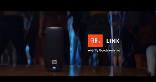 Screenshot aus JBL Link Werbung