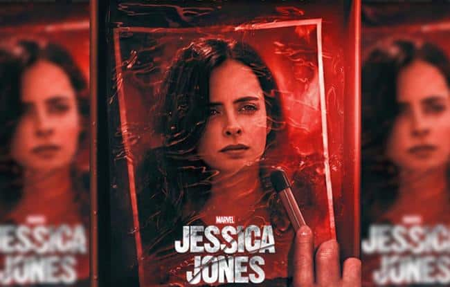 Jessica Jones Staffel 3 Poster