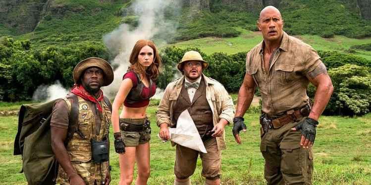 """Bild aus dem Film """"Jumanji: Willkommen im Dschungel"""""""