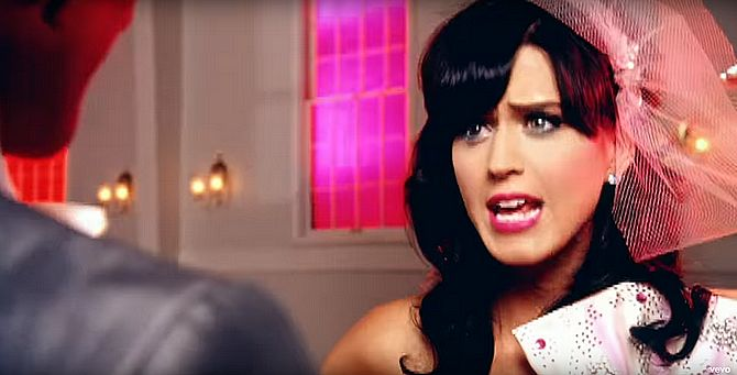 Bild aus Katy Perry Musikvideo