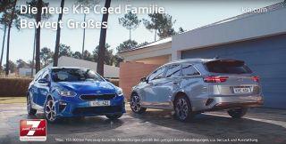Screenshot aus Kia Ceed Werbung