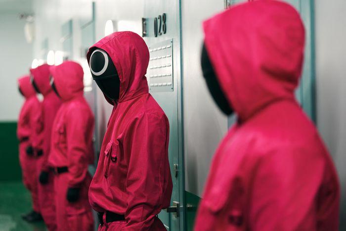 Maskierte Männer Squid Game