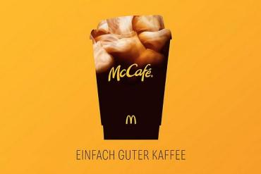 Screenshot aus der McCafe Werbung