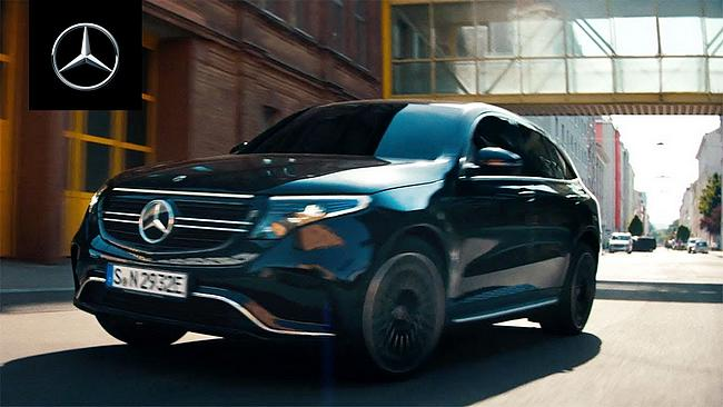 Screenshot aus Mercedes-Benz EQC TV-Spot