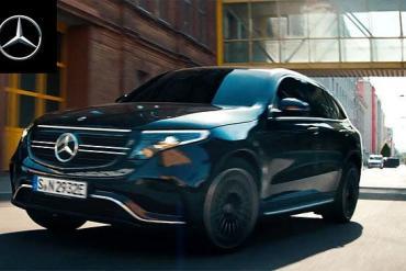 Screenshot aus Mercedes-Benz EQC TV-Spot