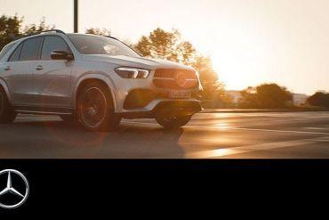 Screenshot aus Mercedes-Benz GLE Werbung