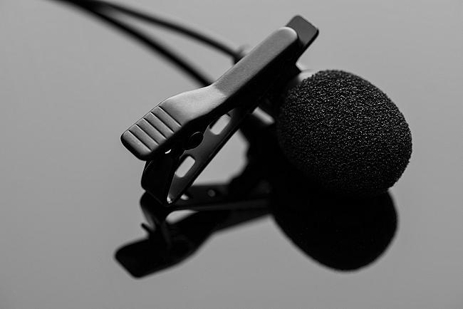 Ansteckmikrofon für Smartphone