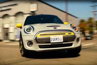 Screenshot aus der Mini Electric Werbung