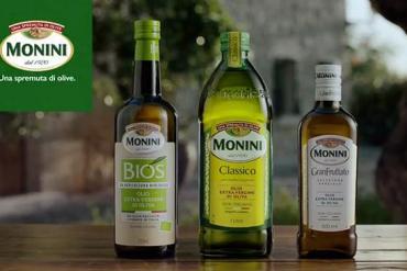 Screenshot aus Monini Werbung