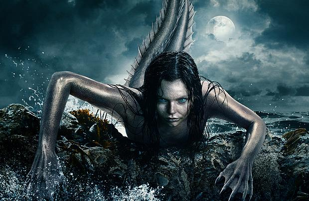 Mysterious Mermaids Poster
