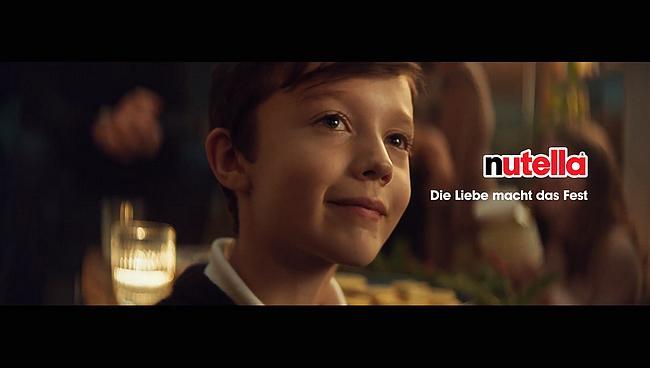 Screenshot aus der Nutella Weihnachtswerbung 2019