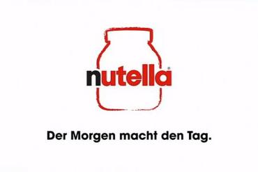 Screenshot aus Nutella Werbung