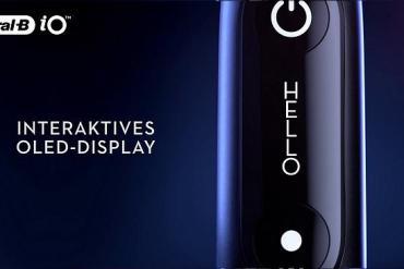 Screenshot aus der Oral-B iO Werbung