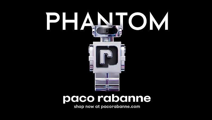 Screenshot aus der Paco Rabanne Phantom Werbung