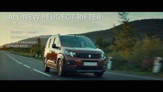 Screenshot aus Peugeot Rifter Werbung