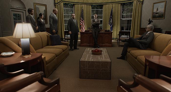 Resident Evil: Infinite Darkness Oval Office