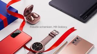Screenshot aus der Samsung Galaxy Werbung