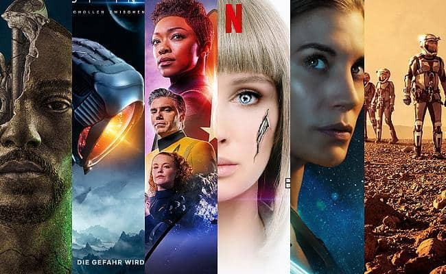 Sci-Fi-Serien auf Netflix