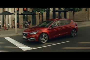 Screenshot aus der SEAT Leon e-Hybrid Werbung