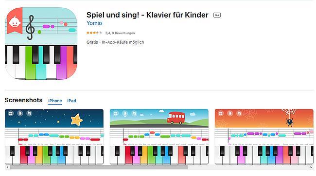 Spiel und sing! - Klavier für Kinder