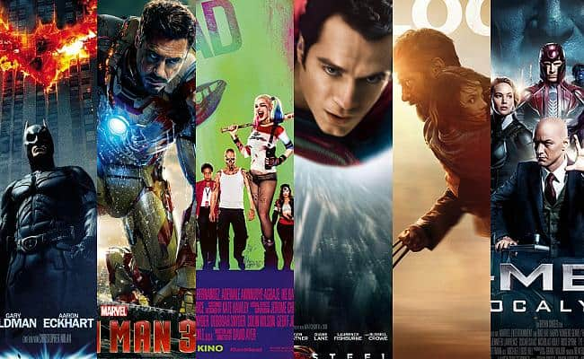 Superhelden-Filme auf Netflix
