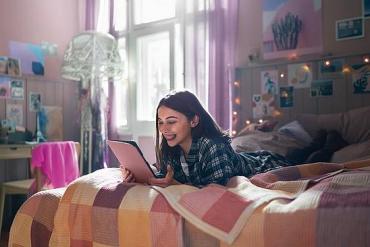 Screenshot aus der Telekom Wlan Werbung