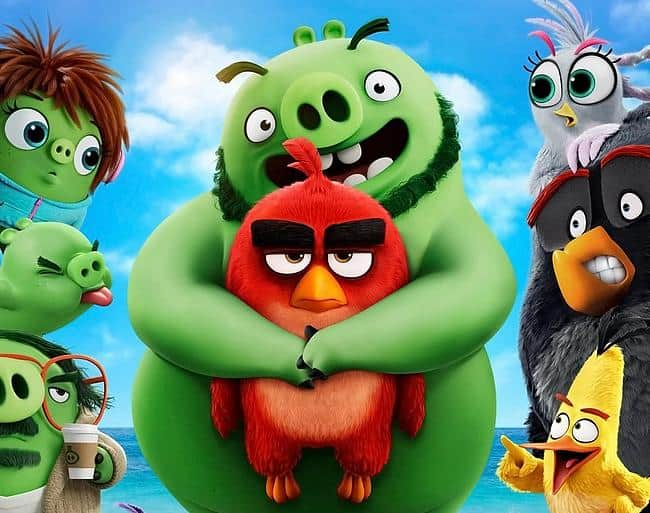 The Angry Birds 2 Poster